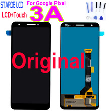 цена на 100% Original Tested For Google Pixel 3A LCD Display Touch Screen Digitizer Assembly Replacement  For Google Pixel 3A LCD Screen