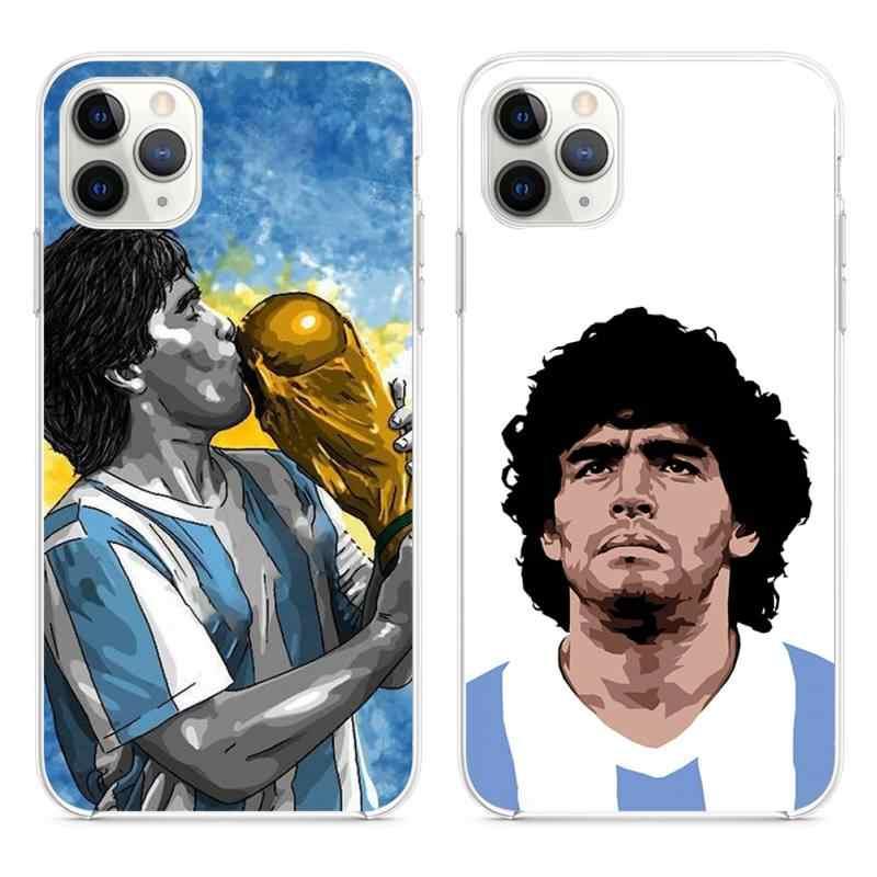 Diego Armando Maradona Cassa Del Telefono per il iphone 12 pro max 11 pro XS MAX 8 7 6 6S Plus X 5S SE 2020 XR copertura