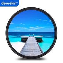 Deerekin 67 мм тонкий УФ-фильтр для Canon EOS 70D 80D 760D Rebel T6s 18-135 мм STM, Nikon D7500 18-140 18-105 мм объектив