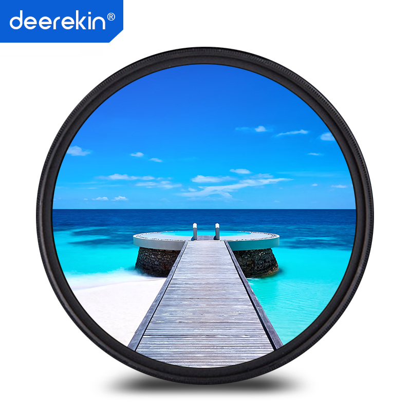 Deerekin 40.5mm SLIM UV Protector Filter for <font><b>Sony</b></font> 16-50mm (<font><b>Alpha</b></font> A6500 A6400 A6300 A6000 <font><b>A5000</b></font> A5100 A3000) image