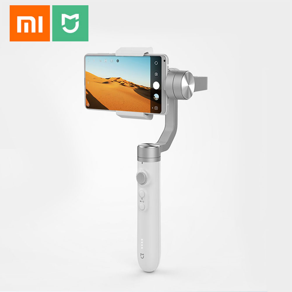 Original Xiaomi Mijia SJYT01FM 3-Axis Handheld Gimbal Stabilizer 5000mAh Battery For Sports Action Camera and Phone Mix 2 2S