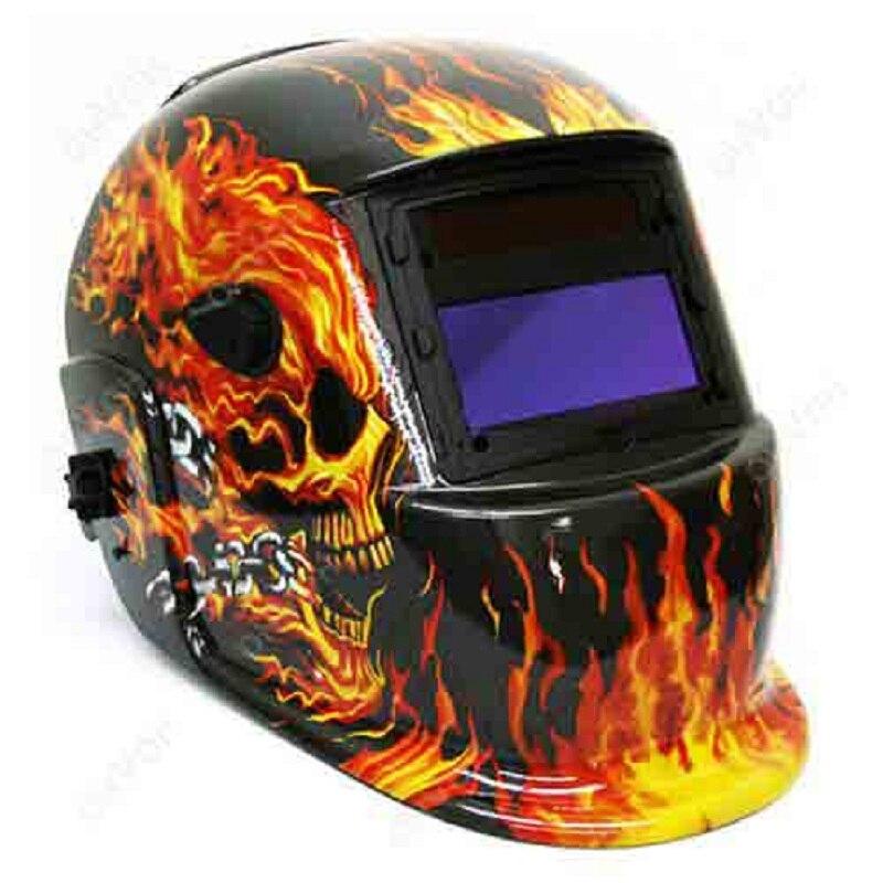Solar Automatische Schweiß Helm Schweiß Maske Automatische Schweißen Schild MIG TIG ARC Schweißen Schild (Terminator)