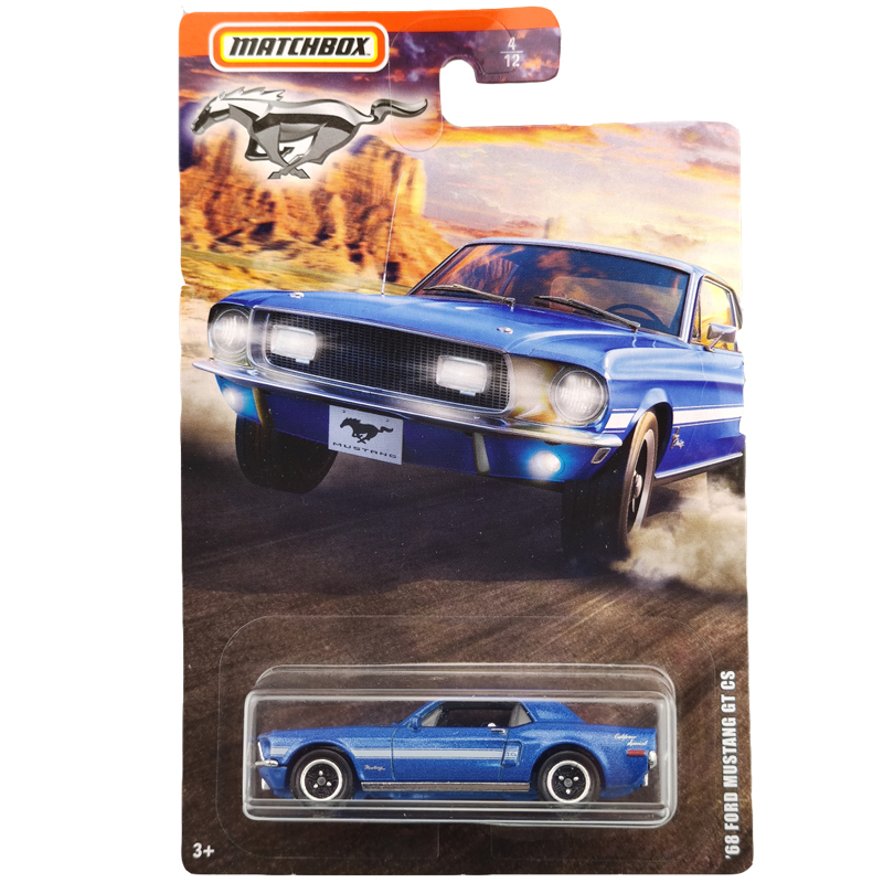2020 Matchbox 1/64 Car 68 FORD MUSTANG GT CS  Collective Edition Metal Diecast Car Alloy Model Car Kids Toys Gift