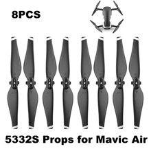 4 пары 5332S Пропеллер для DJI Mavic Air Drone Быстроразъемное лезвие 5332 реквизит прочные запасные части запасные аксессуары крыло