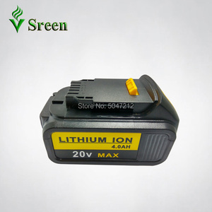 Image 2 - 5PCS 18V 4000mAh Li Ion Replacement for DEWALT Power Tool Rechargeable Battery DCB180 DCB181 DCB182 DCB200 DCB201 DCB203 DCB204