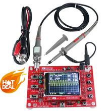 NEW2.4 Inch Digital Oscilloscope 1Msps Kit Parts Making Electronic