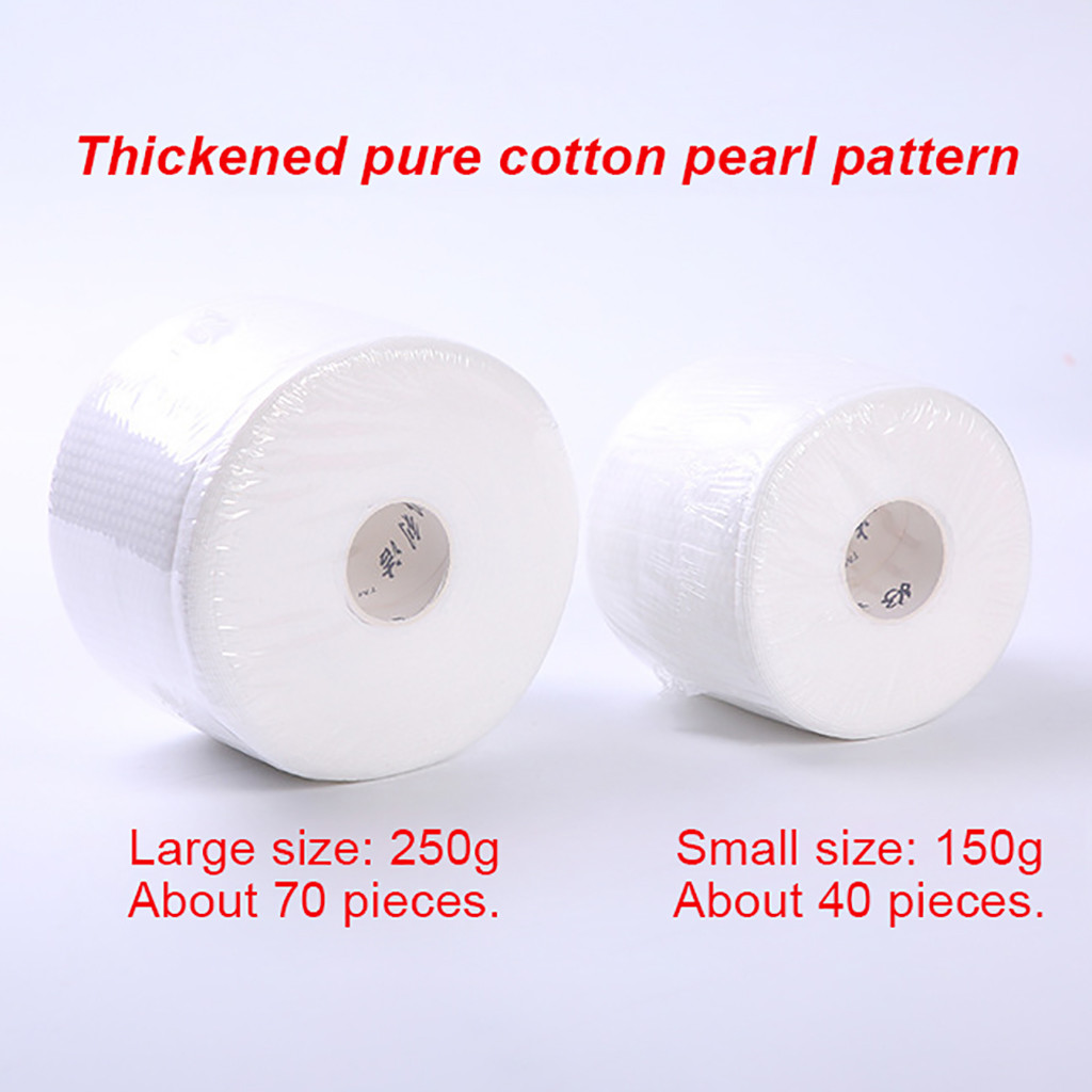 Disposable Face Towel Non-Woven Facial Tissue Makeup Wipes Cotton Pads Facial Cleansing Makeup Remover Roll Paper Tissue #3