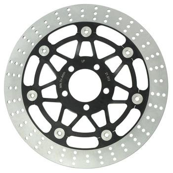 Motos Freio Dianteiro Disco Rotor Fit For Kawasaki BJ250 ZXR250 ZRX400 KR250 ZR250 ZR400 ZR550 ZZR250 ZZR500 ZZR600 GPZ900 NOVO