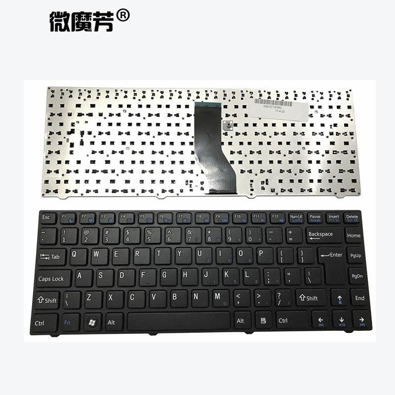Bilgisayar ve Ofis'ten Yedek Klavyeler'de Abd klavye Hasee K550D I3 I5 I7 D1 D2 JW5 JW2 QJW401 I5 1005 T6 3 M411 için laptop klavye değiştirin title=