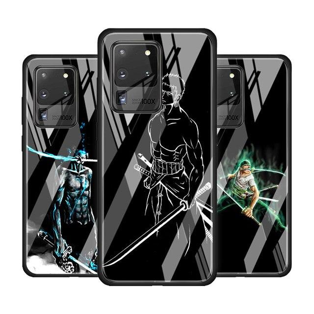 Étui en verre trempé pour Samsung Galaxy S10 S20 Plus S20 Ultra 5G S8 S9 Plus S10 Lite Coque de protection