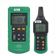 Mastech MS6818 Portable Professional Draht Kabel Tracker Metallrohr Locator Detector Tester Linie Tracker Voltage12 ~ 400V