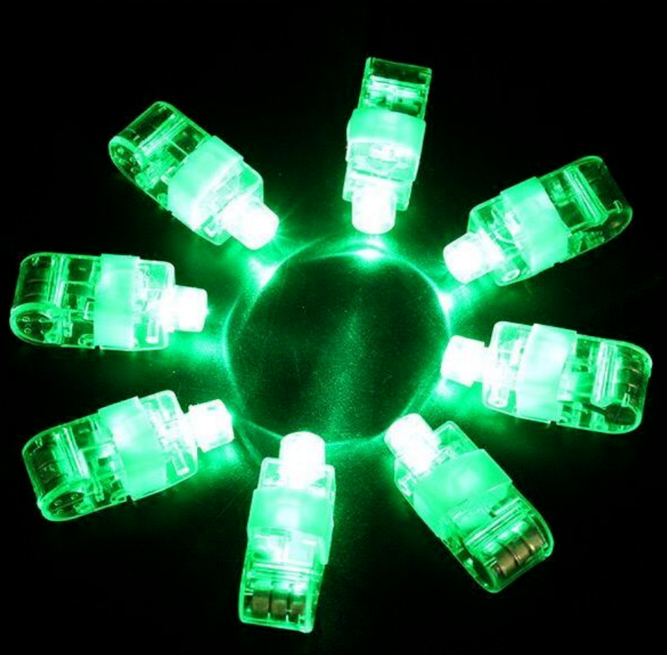 5 pces led laser dedo luzes neon 04