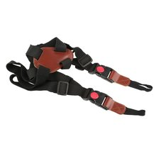 Многофункциональный нейлоновый плечевой ремень для камеры, двойной плечевой ремень, аксессуары для спортивной камеры