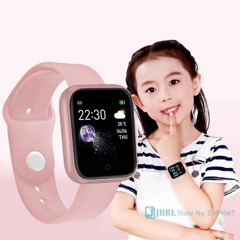 Bluetooth Sport Watch Children Kids Watches For Girls Boys Wrist Watch Student Clock Electronic LED Digital Child Wristwatch