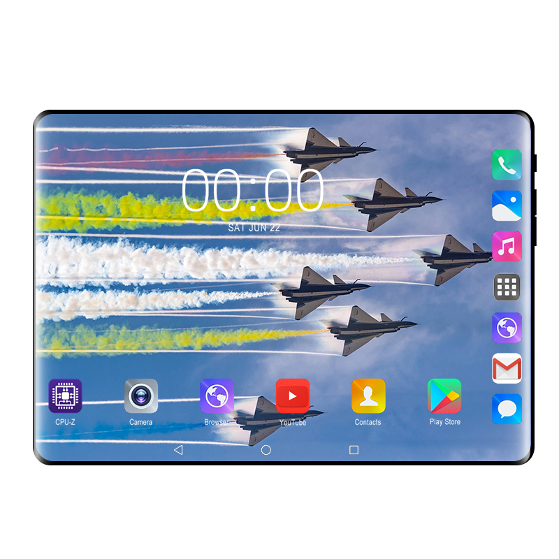 Android 9.0 Tablet PC 10 Inch Google Store RAM 6GB ROM 128GB Octa Core 3G 4G LTE Smart Phone WIFI GPS Android 9 Tablets 10 10.1