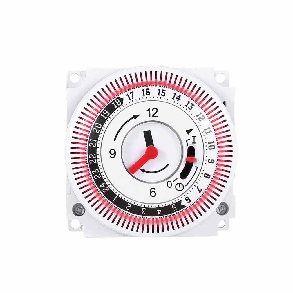 จับเวลาเครื่องกล 250V Time Counterเตือน 15Min 24HครัวนับถอยหลังประหยัดพลังงานControllerอุตสาหกรรมTiming Switch
