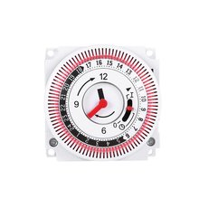 Mechanical Timer 250V Time Counter Reminder 15min 24h Kitchen Countdown Energy S