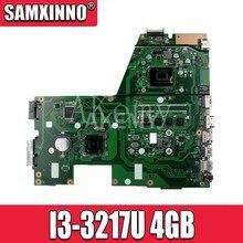 X551ca placa-mãe do portátil para asus x551c x551cap original mainboard I3-3217U 4gb-ram
