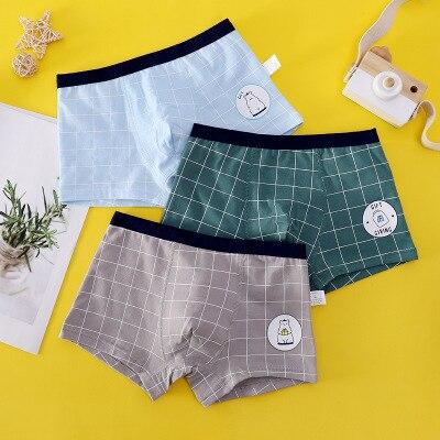 VIDMID new Baby kids  Boys Panties Cotton Underwear Boxer Underpants for boys Cartoon Children's Underwear Clothing 7130 04 5