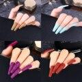 24 шт. ABS носимых блеск гроб накладные ногти балерина искусственные накладные ногти полное покрытие советы Съемная Для женщин маникюрных инс...