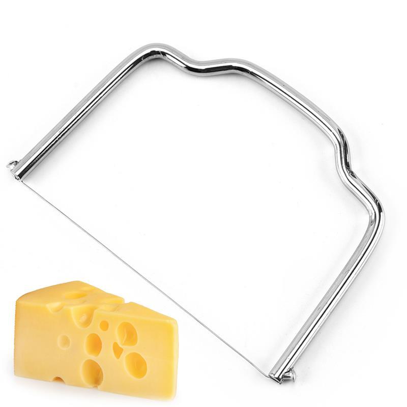 Слайсер для сливочной проволоки, ручной резак для масла из нержавеющей стали, резак для сыра, резак для сыра, резак для проволоки, кухонные и...