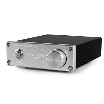 Promotion--Kguss Mp02 Phono Preamplifier Lp Record Player Mini Mm Phono Phono Preamp Audio Amplifier