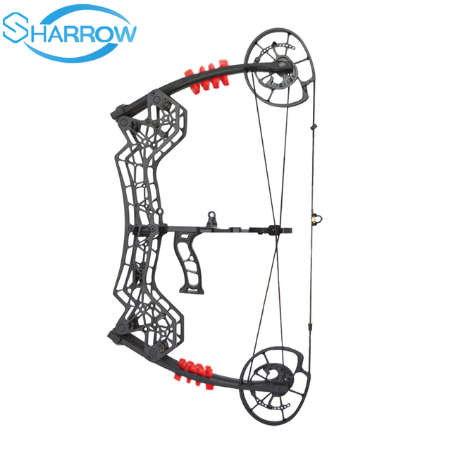 NEW 30-60LBS Archery Compound Bow 310FPS RH Catapult Dual-use Steel Ball Arrows Shooting slingshot Hunting Shooting 1