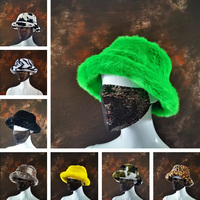Sombrero de pescador de piel sintética para hombre y mujer, gorro de pesca grueso, suave, cálido, para vacaciones al aire libre