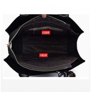 Image 5 - หนัง big sacs หลัก femme สุภาพสตรีกระเป๋าผู้หญิง crossbody สุภาพสตรีกระเป๋าถือ sac femme 2019 nouveau กระเป๋าถือ