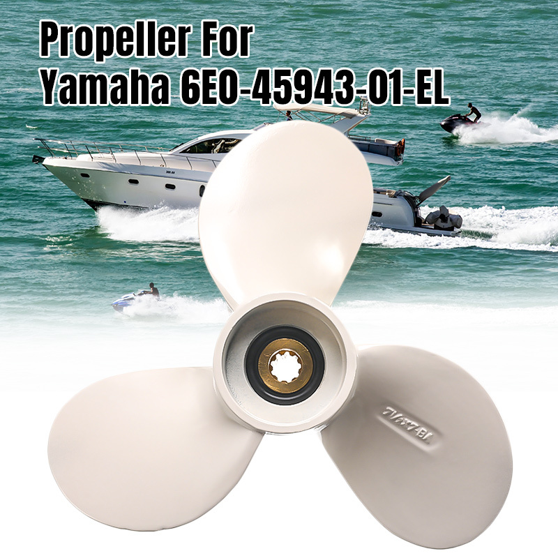 Boat Motors Marine Propellers For Yamaha Outboard 4HP 5HP 6HP Engine 6E0-45943-01-EL 71/2X 7-BA