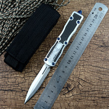 Y-START Prototype Knife Satin blade Aluminum alloy Handle with Nylon pouch Torix Outdoor Camping Survival Tactical Tool