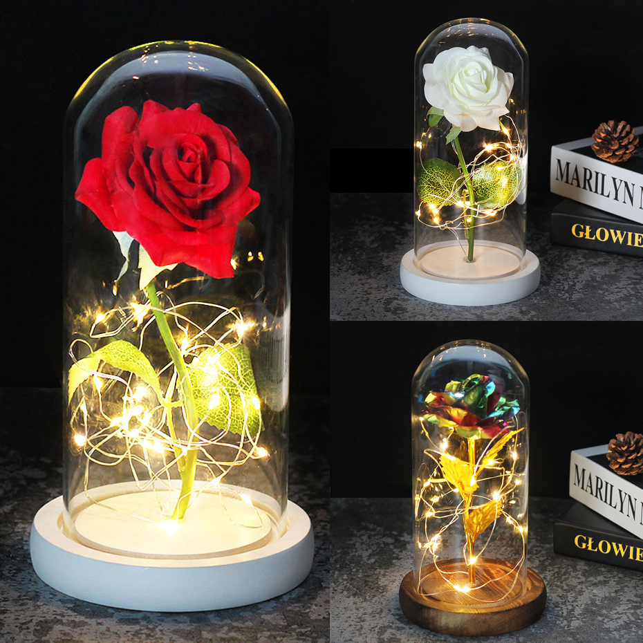 Medium Beauty And The Beast Rose Rose In Glass Dome Forever Rose Red Rose Special Romantic Gift Valentines Day Gift Artificial Dried Flowers Aliexpress,Joanna Gaines Shiplap Bedroom