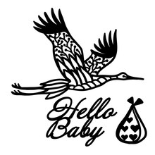 YaMinSanNiO Baby Born Metal Cutting Dies Birds DIY Etched Craft Paper Card Making Scrapbooking Embossing New 2019