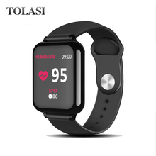 B57 Smart watches Waterproof Sports for iphone phone Smartwatch Heart Rate Monitor Blood Pressure Functions For Women men kids