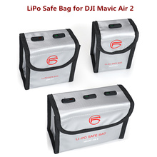 Upgraded DJI Mavic Air 2 LiPo Safe Bag Explosion proof Protective Battery Storage Bag for DJI
