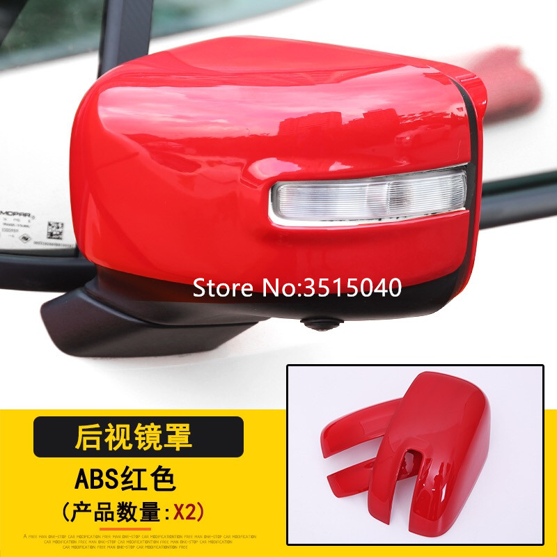 for KIA Sorento L 2016-2018 Car Styling Outer Door Rear View Mirror Cover Trim Caps ABS Chrome 2PCS//Set