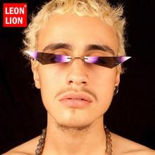 LeonLion Cateye Sunglasses Men 2019 Luxury Brand Su
