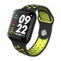 Intelligente Della Vigilanza Donne Degli Uomini di Frequenza Cardiaca Monitor di Pressione Sanguigna di Inseguitore di Fitness IP67 Impermeabile Sport Smartwatch Orologio PK S226 IWO 10 9