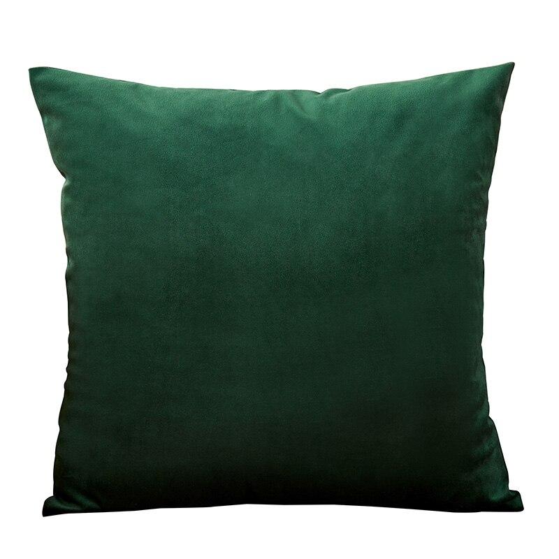 Housse de coussin Vert sapin – 4 tailles au choix