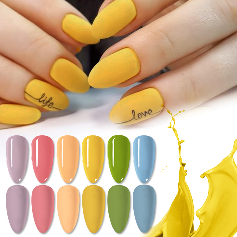 NICOLE DAIRY Gel Nail Polish Varnishes All For Manicur Nails Art Semi Permanent UV Led Gel Lacque Nail Design Base Top Coat