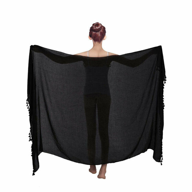 Beach Wear Cover Up Swimsuit Wrap Skirt Sarong Women Swimwear Bikini Ladies Summer Solid Cover Up Clothes 10