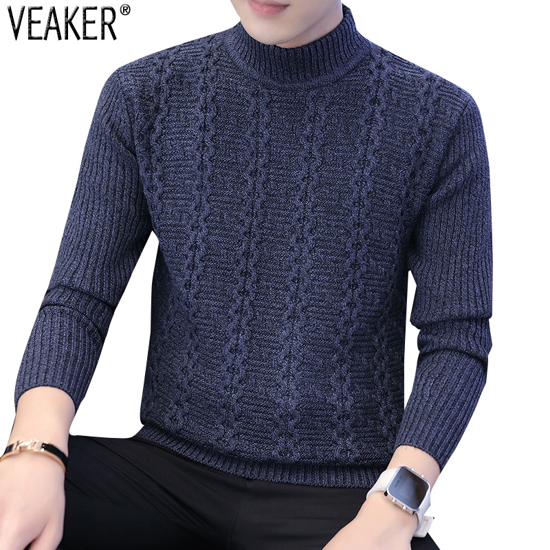 2019 Reclaim Winter New Men Coltrui Trui Male Effects Colour Slim Fit Used Sweaters Trui M -3XL