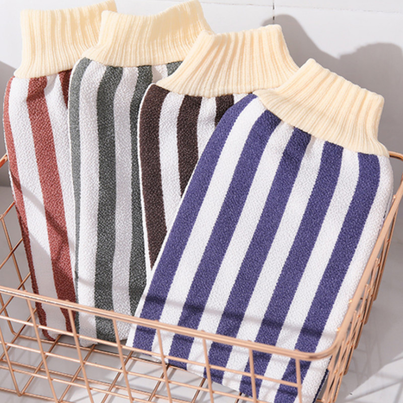 10types Exfoliating Peeling Mitt Scrub Glove Preparation Body Cleaning Bath Shower Scrub Gloves Sponge Skin Spa Bath Shower Wash