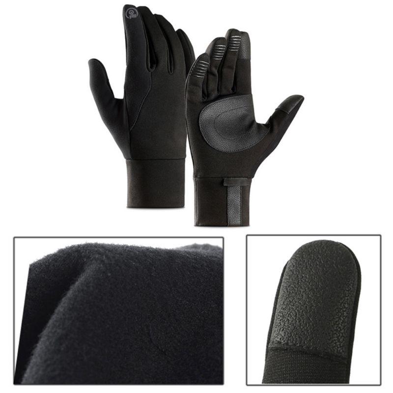 respirável luvas dedo cheio anti deslizamento ciclismo esqui luvas inverno