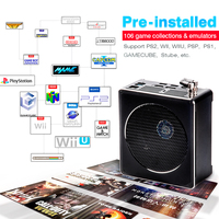 Super Console PC BOX Retro Video Game Console Dual System with 63000+ Games Emulators For Sega Staurn/PS2/WII/WIIU/N64/PS3/PSP 2