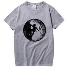 Мужская футболка из 100% хлопка с коротким рукавом и круглым