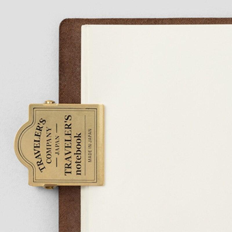 Vintage Brass Fashion TN Clip 44mm*44mm DIY Journal Decoration Bookmark Supplies 1 Piece