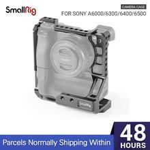 SmallRig – Cage de caméra DSLR pour Sony A6000/A6300/A6500, avec Meike MK A6300/A6500, Kit de poignée de batterie 2268