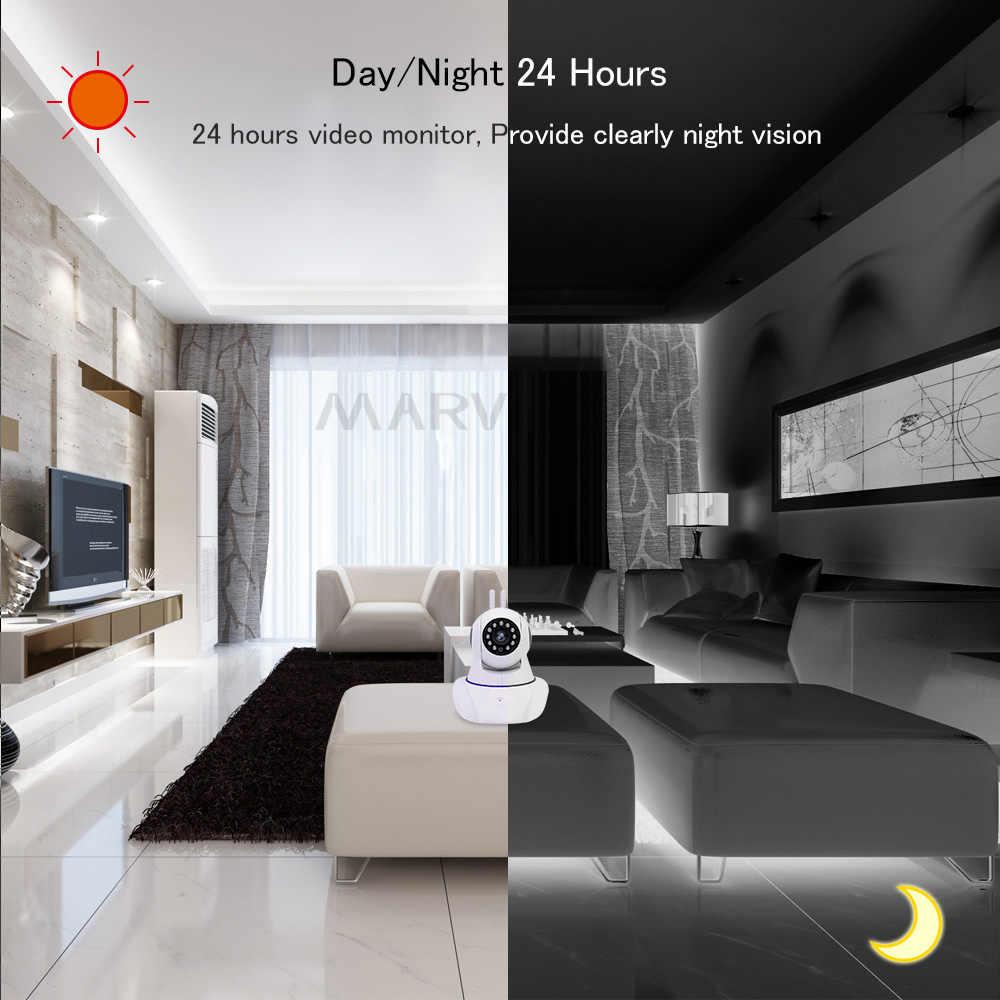 Домашняя безопасность детский монитор WiFi IP камера Беспроводной Детский фотоаппарат двухсторонний Аудио Видео няня ночное видение детский телефон камера s 1080P