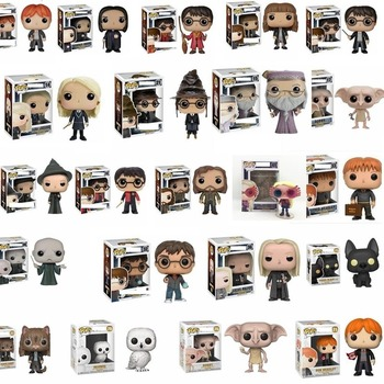super heroes harry potter figure hermione draco malfoy ron weasley lord voldemort building blocks toys for children gift kf1031 funko POP NEW Draco Malfoy Harri Potter Moaning Myrtle Limited Edition Vinyl Dolls Figure Model Toys For Children Christmas Gift